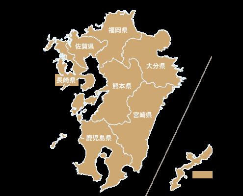 九州・沖縄地図